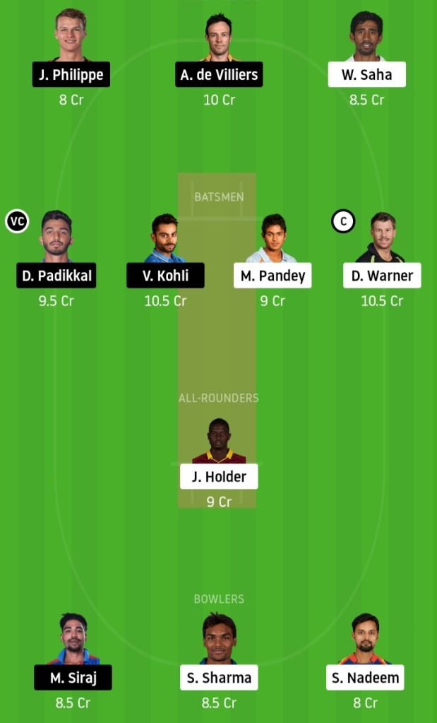 SRH vs MI Final Team www.crickinfo.in