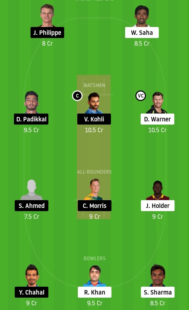 Sunrisers Hyderabad vs Mumbai Indians Dream11 Team Prediction Crickinfo