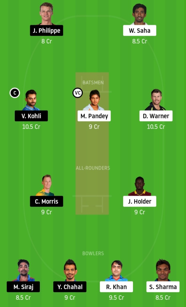 SRH vs MI Dream11 Team Prediction www.crickinfo.in